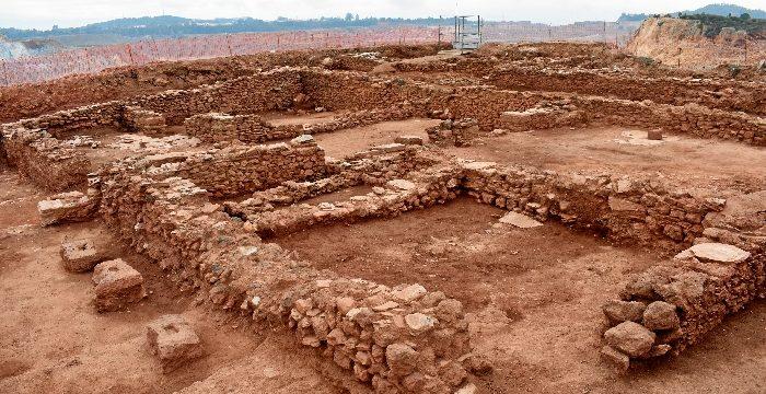 Sale a la luz una ciudad romana del siglo II d. C. en el yacimiento arqueológico de 'Corta del Lago' en Minas de Riotinto