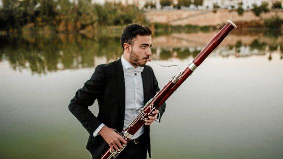 El fagotista triguereño Antonio Abad López actúa como solista con la Banda Sinfónica de Córdoba