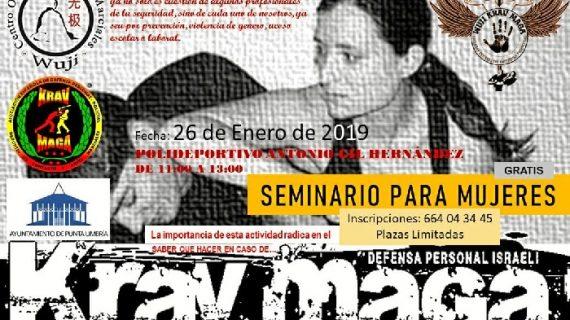 Punta Umbría acogerá un seminario de defensa personal para mujeres