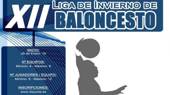 Abierto el plazo de inscripción para participar en la XII Liga de Invierno de Baloncesto en Punta Umbría