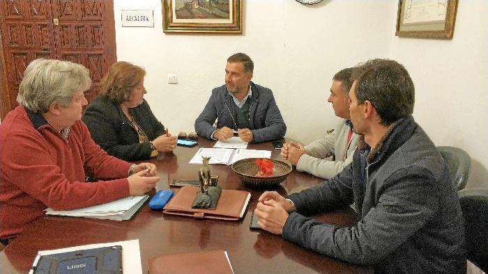 Moguer y Giahsa utilizarán de forma conjunta el depósito del Molino de Viento