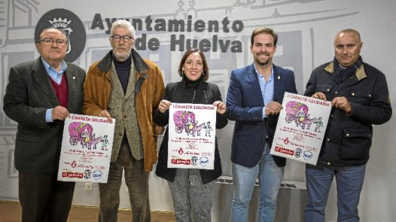 Ayuntamiento y Hermandad de Emigrantes aúnan esfuerzos para conseguir 1.500 kilos de alimentos con la 'I Carreta Solidaria'