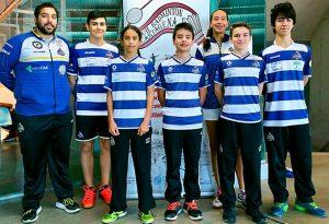 Representantes del Recre IES La Orden en el torneo celebrado en Cartagena.