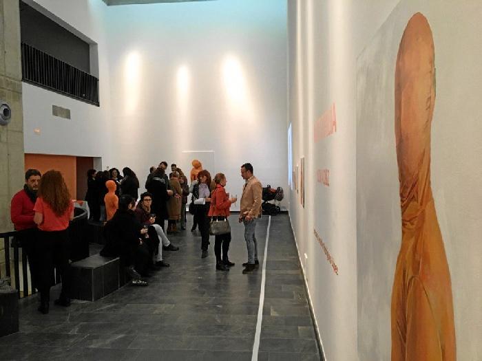 Gibraleón es testigo de la exposición Nictofilia de Carlos Dovao y Pasajero Z