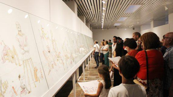 Miles de visitantes a las exposiciones de 2018 confirman la Sala de la Provincia como referente cultural y artístico