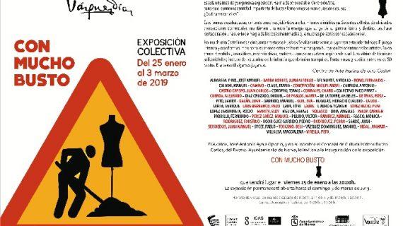 El Museo Vázquez Díaz acogerá la exposición 'Con mucho busto'