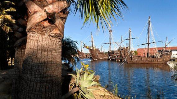 El Muelle de las Carabelas vuelve a batir su récord histórico de visitas