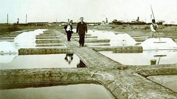 Salinas de Bacuta, años 20 del siglo XX