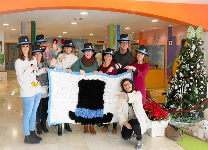 Alumnos de infantil de La Palma del Condado colaboran con el proyecto 'La azotea azul'