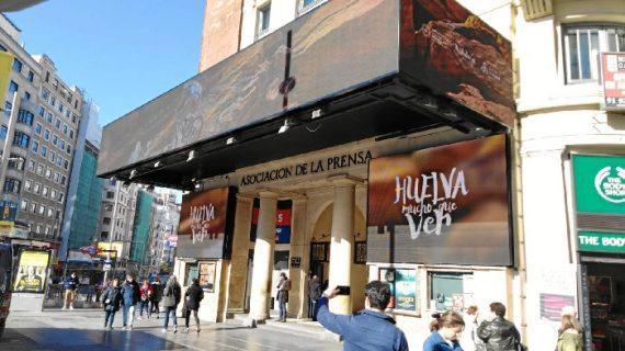 El destino Huelva se promociona estos días en Madrid