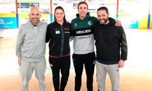Ponentes del II Clinic de Baloncesto 'Ciudad de La Palma'.