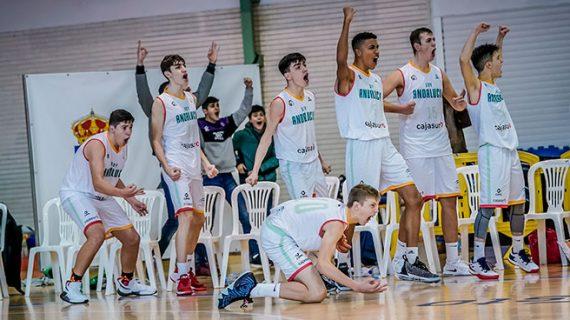 Andalucía inicia fuerte el Campeonato de España Infantil y Cadete de Selecciones Autonómicas de baloncesto