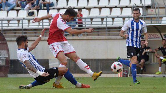 Salmerón cita a todos los jugadores disponibles del Recre para el duelo del domingo (17:00) con el Badajoz