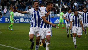 El Recreativo de Huelva se apunta a otro triunfo en casa. / Foto: Pablo Sayago.