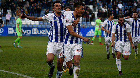 El Recreativo de Huelva supera la prueba del Badajoz (2-1) y se mete en la promoción de ascenso