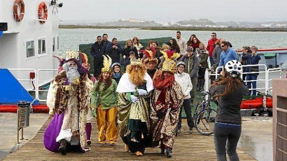 Todo listo en Ayamonte para su esperada Cabalgata de Reyes