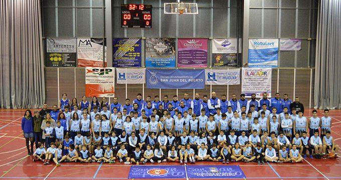 Presentadas las nuevas equipaciones de la EM Baloncesto de San Juan del Puerto