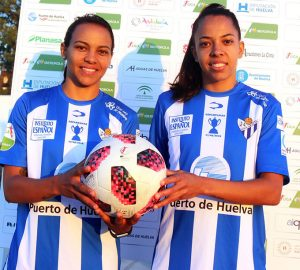 El Sporting de Huelva incorpora a su plantilla a las brasileñas Raquel Fernandes y Ludmila Barbosa.