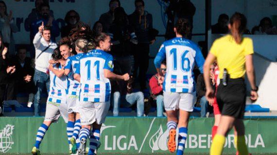 El Sporting Puerto de Huelva se trabaja un triunfo valioso en la 'final' ante el Sevilla (2-1)