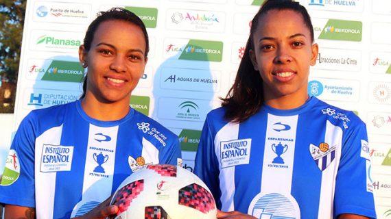 Raquel Fernandes y Ludmila Barbosa refuerzan el ataque del Sporting Puerto de Huelva