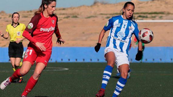 Ludmila Barbosa agradece la acogida en el Sporting Puerto de Huelva y promete más goles