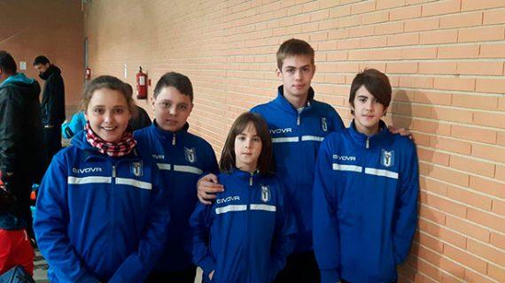 Miriam Flores y Andrés Nuviala se cuelgan una medalla de bronce en el Trofeo Andalucía Sub 11 y Sub 19