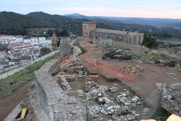 La rehabilitación del Castillo de Aracena potenciará la dinamización turística de este espacio que recibió más de 35.500 visitas en 2018