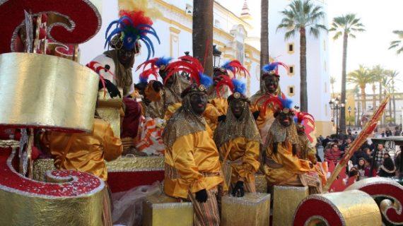 Alegria e Ilusión en la Cabalgata de Reyes de La Palma del Condado