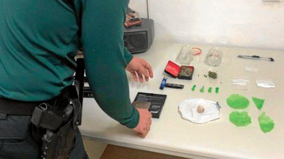 Ocho detenidos en un dispositivo contra el consumo y tráfico de drogas en Moguer y Bonares