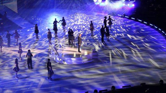 El cine facilita a los onubenses presenciar el espectáculo sobre hielo de Andrea Bocelli