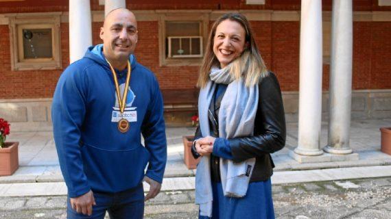 Huelva recibe a Daniel Alejandro Infante, bronce en el Campeonato de España de Powerlifting