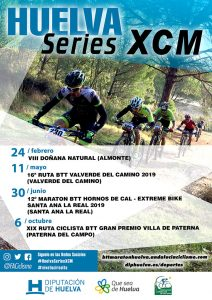 Cartel del Circuito de Maratón Huelva Series XCM 2019.