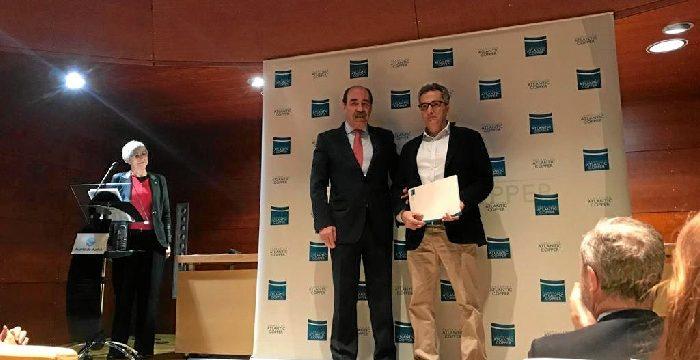 Alejandro Mario Ascaso, ganador del V Concurso de relato Corto 'Hablando en cobre'