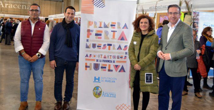 Éxito participativo de la I Feria de Muestra de Asociaciones de la Provincia
