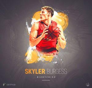Skyler Burgess, nuevo jugador del CDB Enrique Benítez.