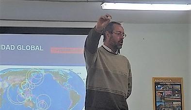 El profesor de la Universidad de Huelva Francisco Manuel Alonso acude a Málaga para ayudar en las tareas de rescate de Julen