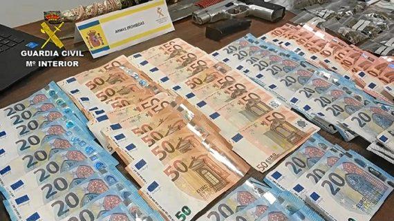 La operación Quaresma desactiva un punto de venta de droga muy activo en Minas de Riotinto