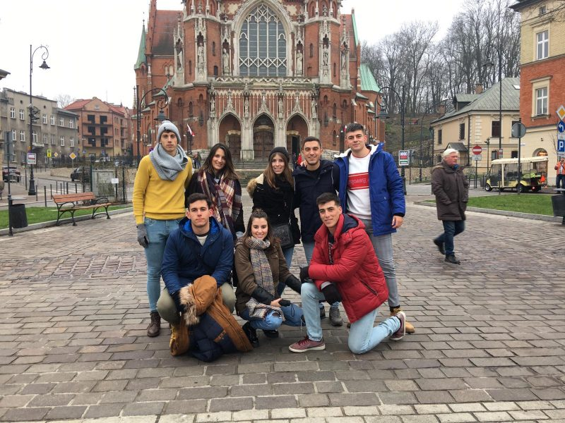 Así es la experiencia del hinojero por el mundo Alejandro Franco en Polonia