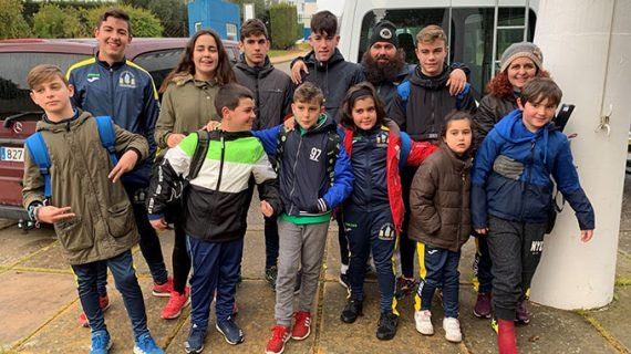 Dos medallas de plata para el Club Deportivo Náutico de Punta Umbría en la primera jornada de Piragüismo IMD Sevilla