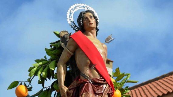 El Almendro vive sus fiestas en honor a San Sebastián