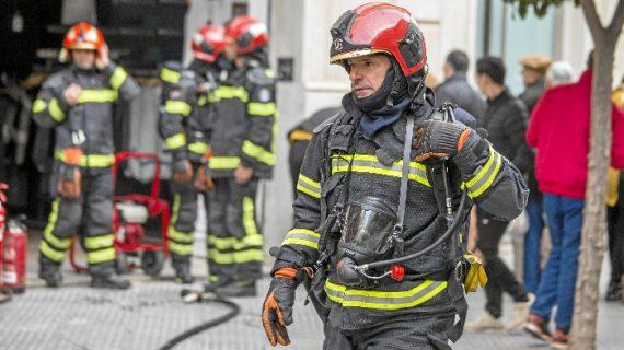 Se reducen en casi un 18 por ciento los incendios en la capital durante 2018