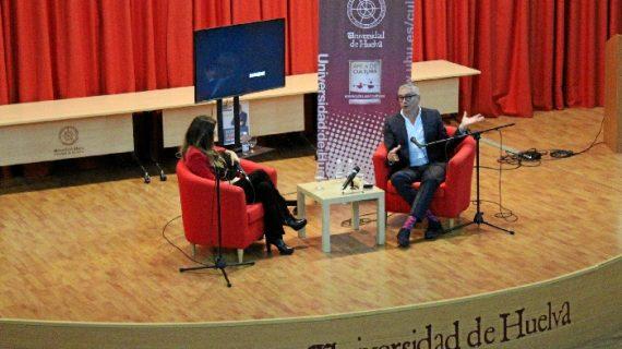 El 'huracán' Boris arrasa en la Universidad de Huelva con 'Tiempo de tormentas'