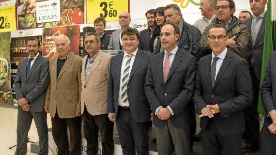 La campaña 'Que sea de Huelva' llega a Carrefour con una cuidada selección de los productos onubenses