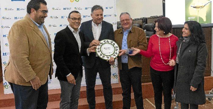 La Cooperativa San Bartolomé de Paterna del Campo gana el VI Premio Diputación de Huelva al Mejor AOVE provincial