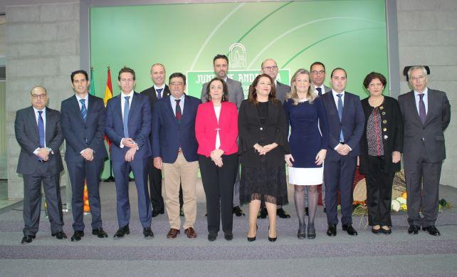 Álvaro Burgos y Ángel Sánchez toman posesión como delegado de Agricultura y director general del Medio Natural, respectivamente