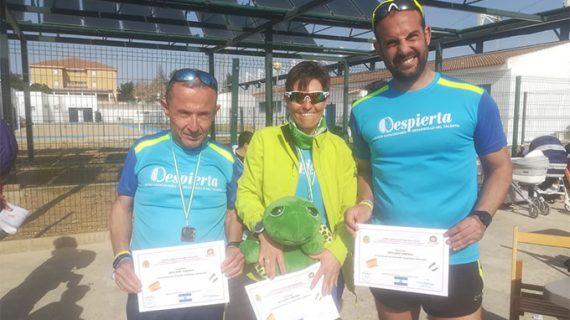 Meritorio fin de semana deportivo para el Club Amigos del Atletismo 'Despierta La Palma del Condado'