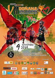 Cartel de la VII Doñana Trail Marathon, que tendrá lugar entre Sevilla y El Rocío, el próximo 9 de noviembre.