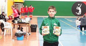 Doblete también para Guillermo Nuviala en el Máster Jóvenes Sub 13 y Sub 17 de Tordesillas, donde logró un oro y un bronce.