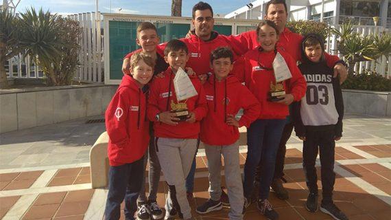 Doblete para el Club Deportivo Náutico de Punta Umbría en la Copa de Andalucía de Óptimist