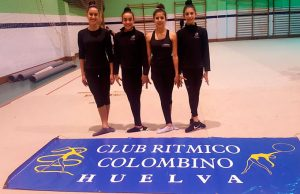 Las deportistas del Rítmico Colombino confían en hacer un buen papel en los eventos en los que participan.